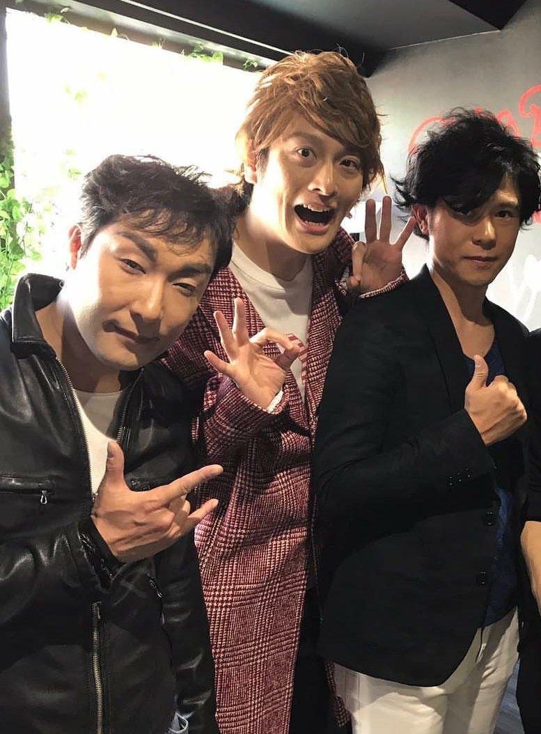 【画像】元SMAPの3人、やっぱりまだまだカッコイイ
