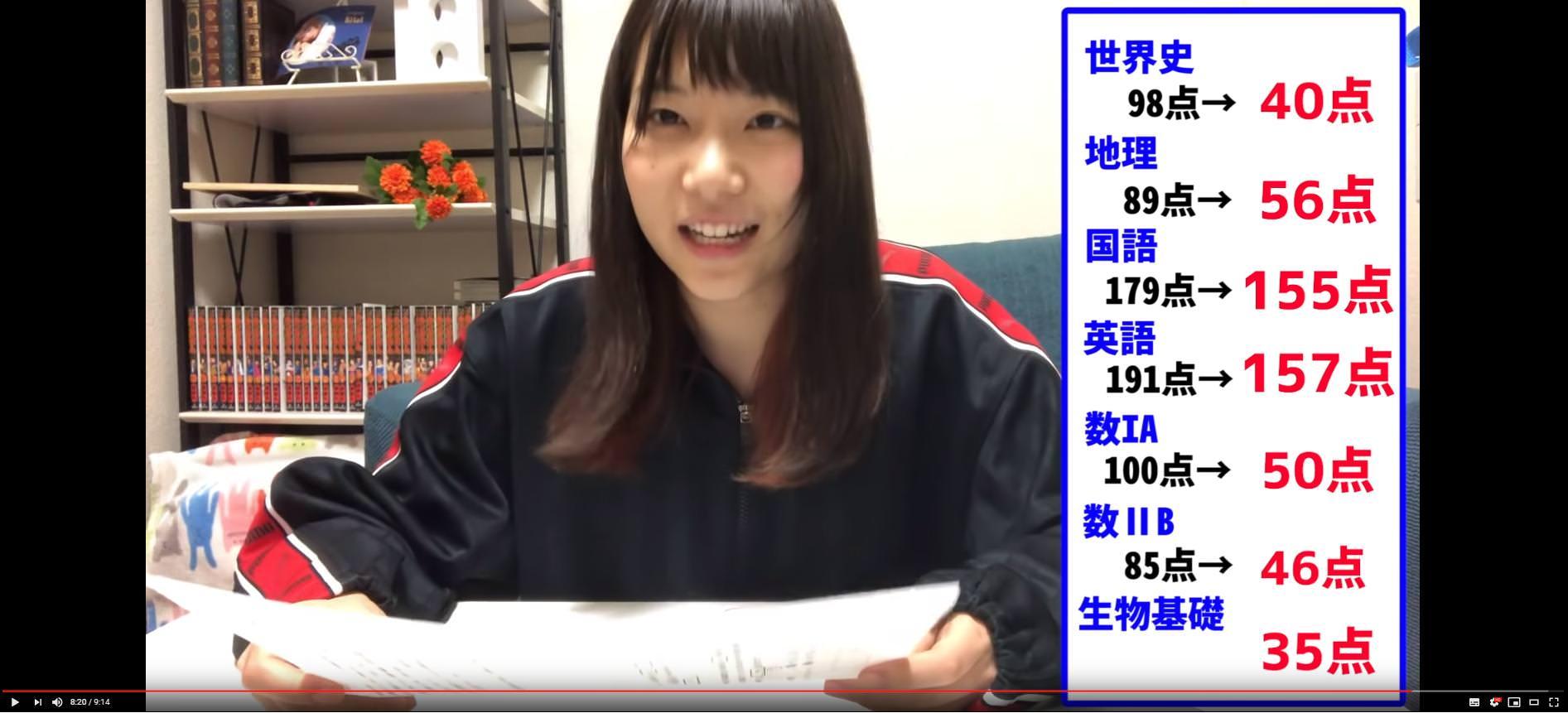 【画像】東大生YouTuberが5年ぶりにセンター試験を受けた結果