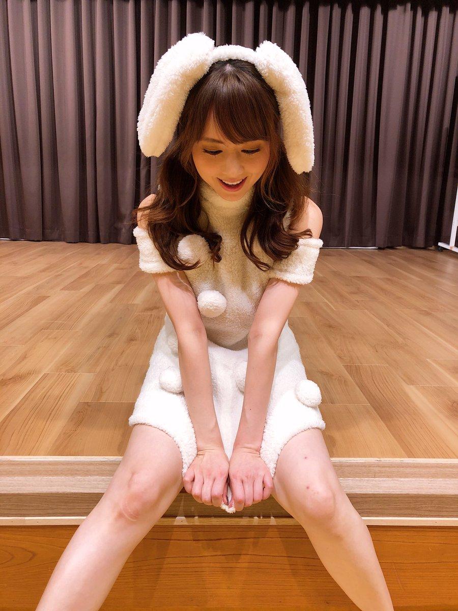 【画像】吉沢明歩(34~38)、エチエチウサギになる