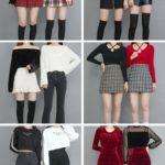 【画像】韓国の若い女の子がよく着てるこういうファッション、エチエチ