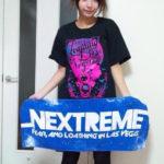 【画像】宇垣美里さん、調子に乗ってベガスTシャツを着てしまう