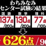 【画像】Hカップグラドル・わちみなみのセンター試験点数www
