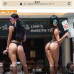【画像】中国のエチエチ美尻コンテストwww
