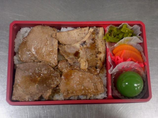 【画像】合成っぽいスーパーボールの入った弁当