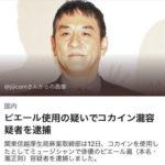 【画像】ピエール瀧逮捕の誤植記事www