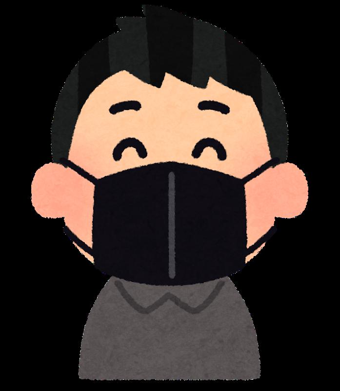 【画像】今流行りの黒マスク、正直どう思う?