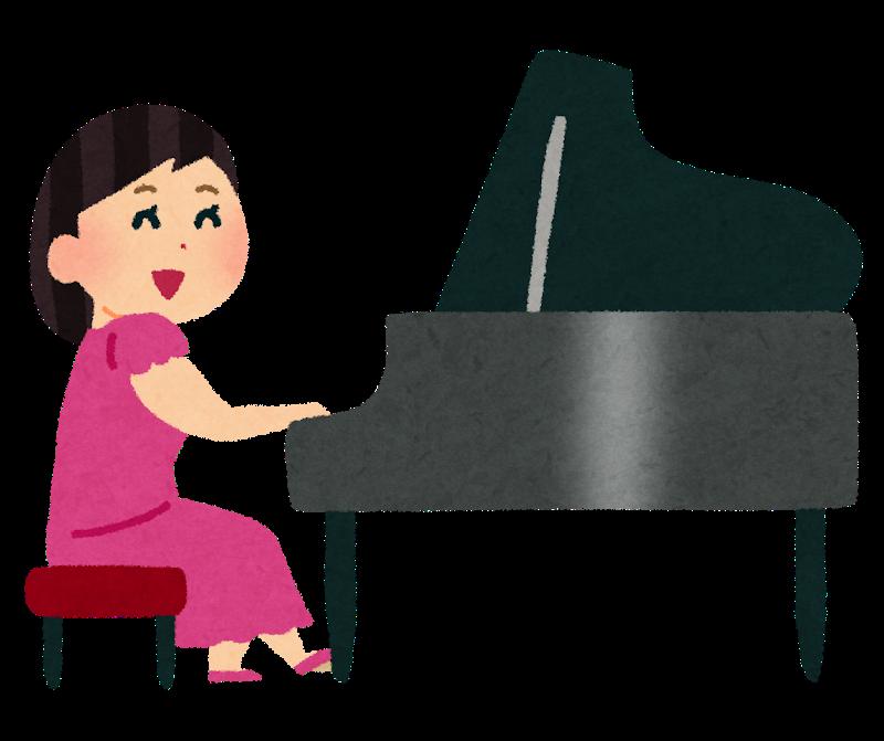 【動画】女子がピアノを弾くだけの動画、大人気