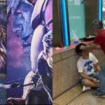 映画館でアベンジャーズのネタバレを大声で叫んだ男、客にアベンジ(逆襲)され流血
