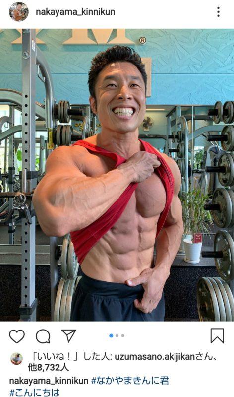 【画像】なかやまきんに君の筋肉、完全に仕上がる