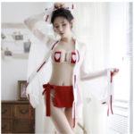 【画像】ビレッジバンガード「童貞を◯す巫女衣装!!!」←100万いいね!
