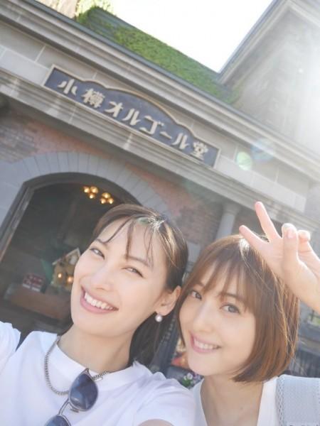 【画像】佐々木希、旦那や子供がいるのに彼女と北海道旅行に行ってしまう
