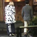 【画像】ヴィーガン ローラ、毛皮のコートを着て社長とすっぽんデート