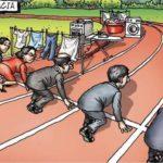 【画像】アメリカで4000万いいね!を獲得した風刺画ww世界よこれが男女差別だ