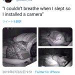 【画像】「なんか夜寝苦しいからカメラ仕掛けてみた」→150万いいね
