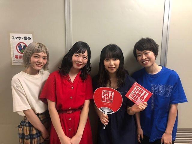 【画像】桜井日奈子、SHISHAMO全員を公開処刑