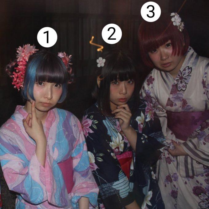 【画像】この女子3人と旅行に行ける?