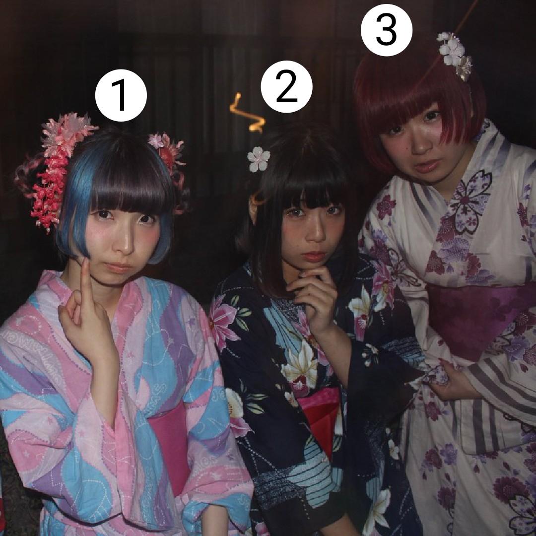 【画像】この女子3人と旅行に行ける???w