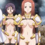 【画像】某アニメの女騎士、とんでもない格好をしてしまう・・・