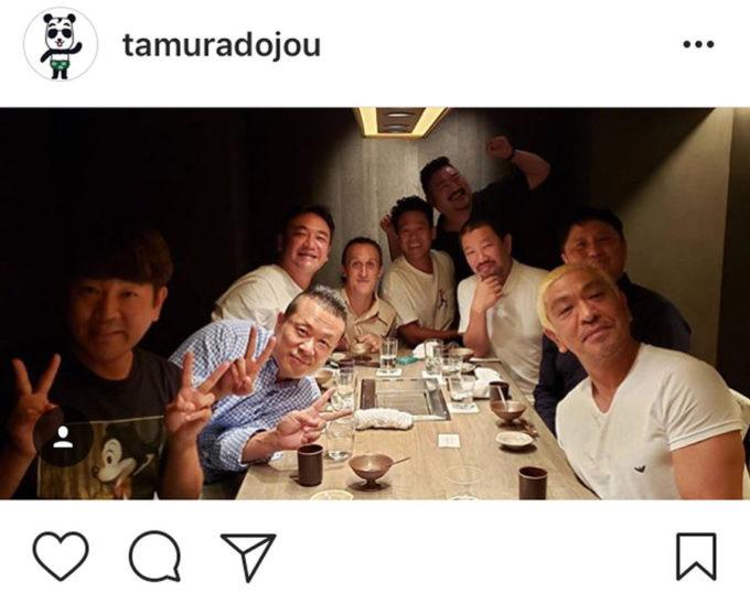 【画像】松本人志、ガチで人望ない説 誕生日会に集まったメンバーが微妙...
