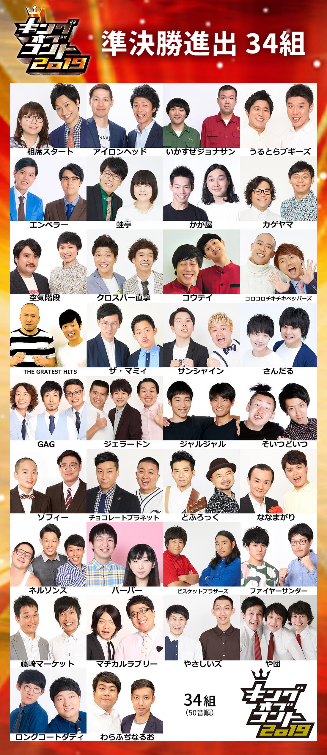 キングオブコント2019放送決定!審査員は松本人志、さまぁ~ず、バナナマン