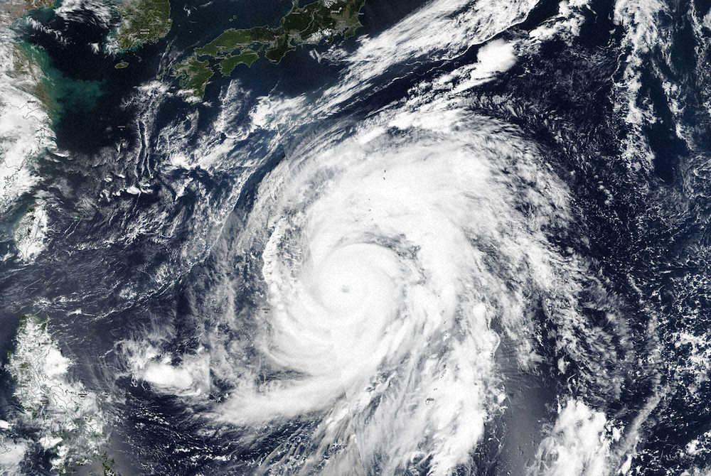 【画像】台風19号デカすぎワロタww ハリケーン「カトリーナ」を超えてカテゴリー6か