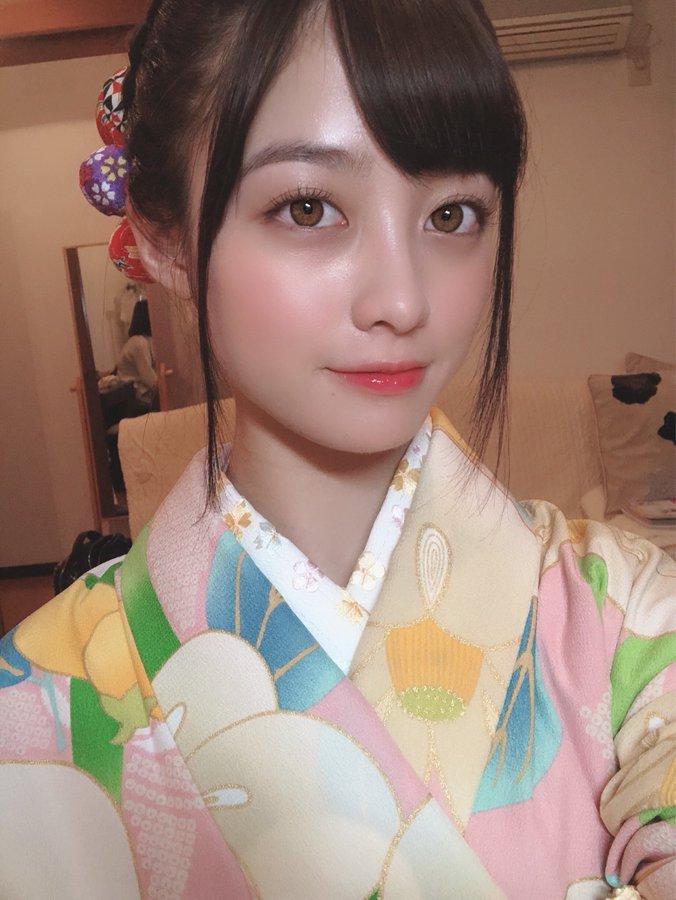 【画像】橋本環奈さんの着物姿、美し過ぎるww