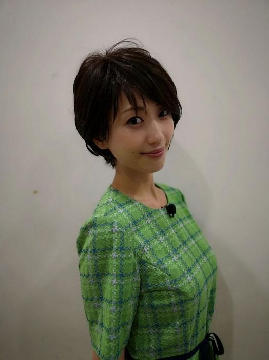 【画像】壇蜜、ショートカットにして髪が短くなる