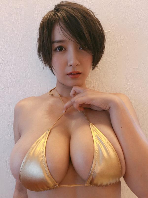 【画像】なんやこの乳。。。