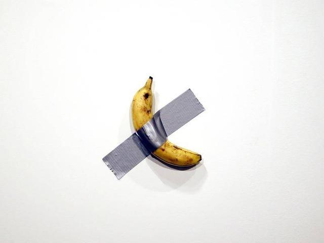 【画像】1300万円のバナナ、食われる