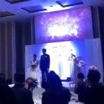 【画像】不倫していた新婦、結婚式で新郎に不倫セックス映像を流される 相手は義兄で式場は修羅場に