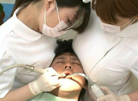 【画像】歯科衛生士「痛くないですかー?」ムチッ…ムチッ…