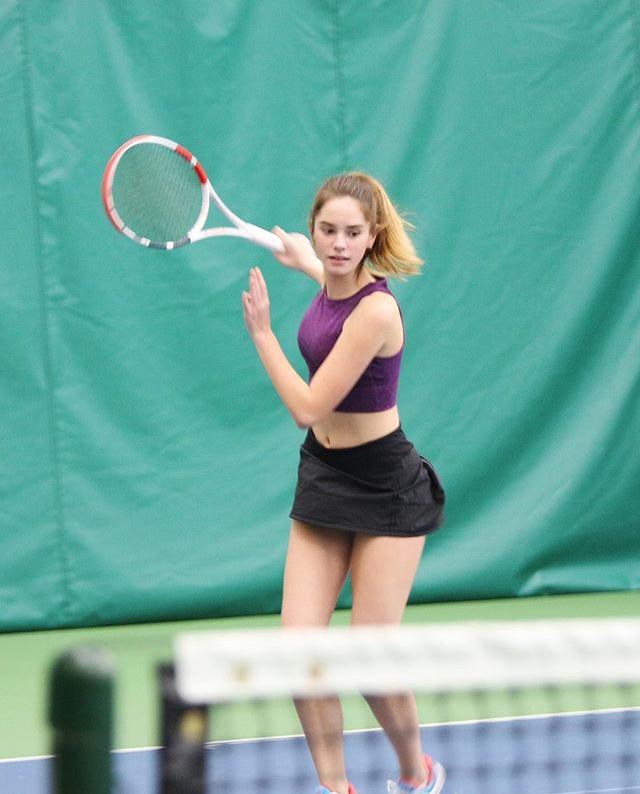 【画像】エマワトソンの上位互換のテニスプレーヤーが発見されるw