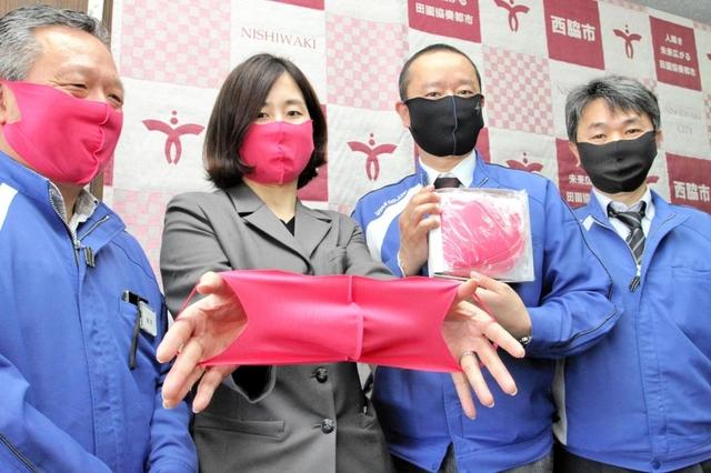 【画像】女性の下着で作ったマスク、注文殺到