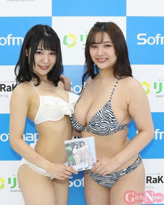 【画像】ソフマップ、GカップとJカップを並べる Gカップなのに貧乳やん…w