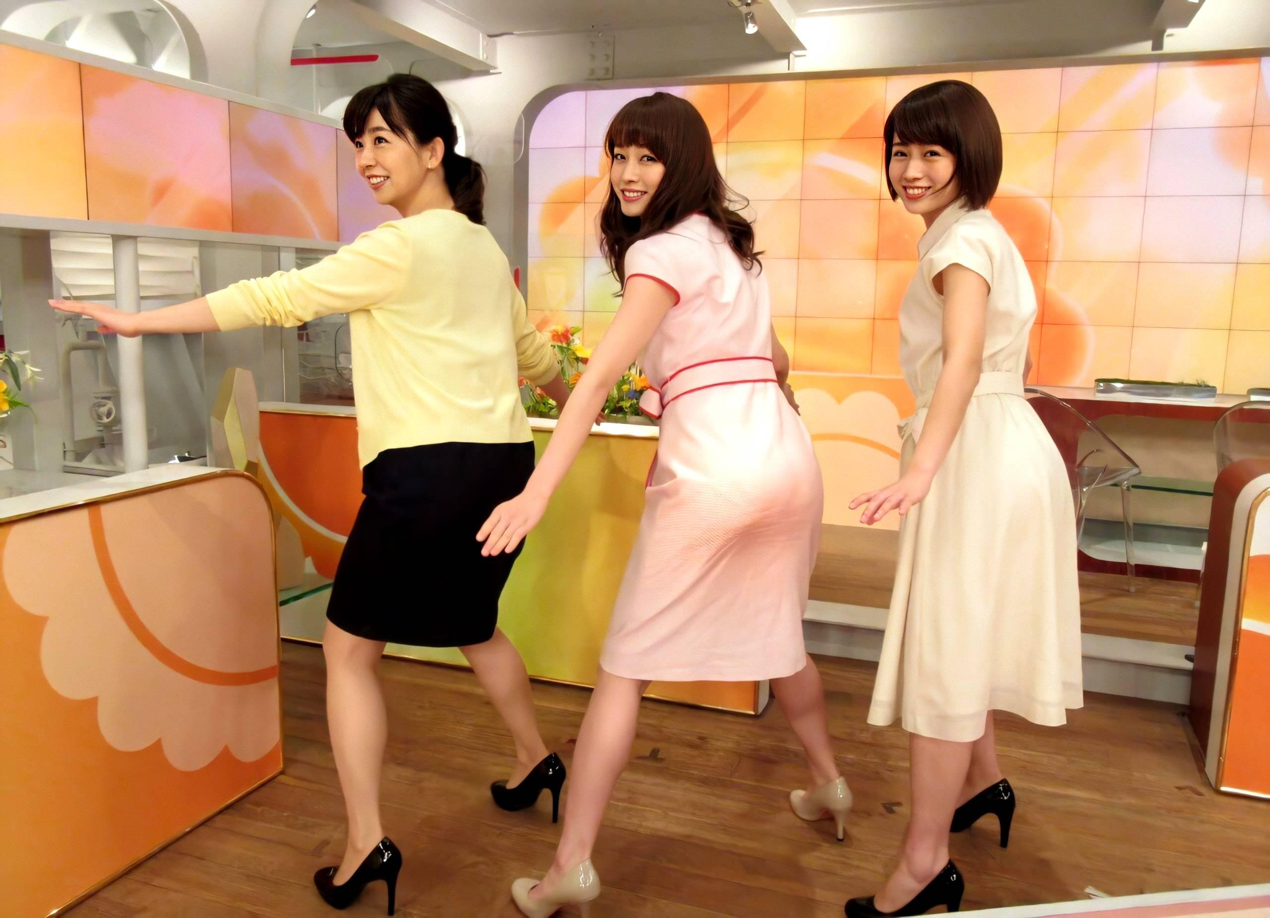 【画像】この三人の女子アナの中で今夜エッチしたいのってさ