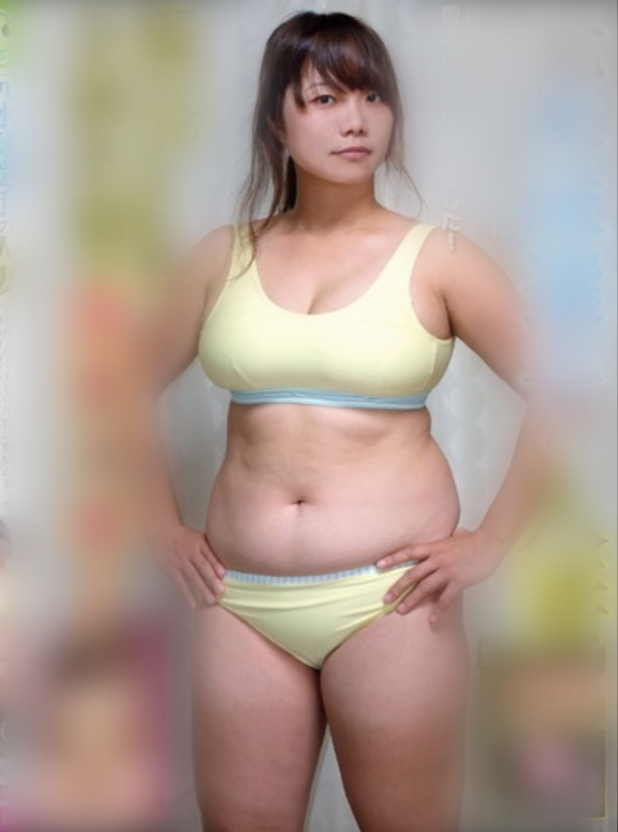 【画像】顔60点、体10点の女の子がこちらwww