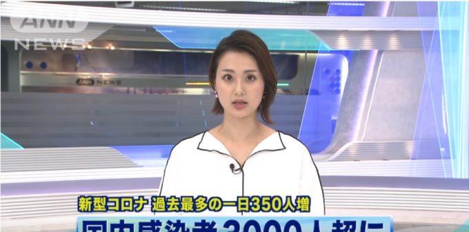 【画像】ニュースキャスターさん、落書きみたいな服を合成されてしまうwww