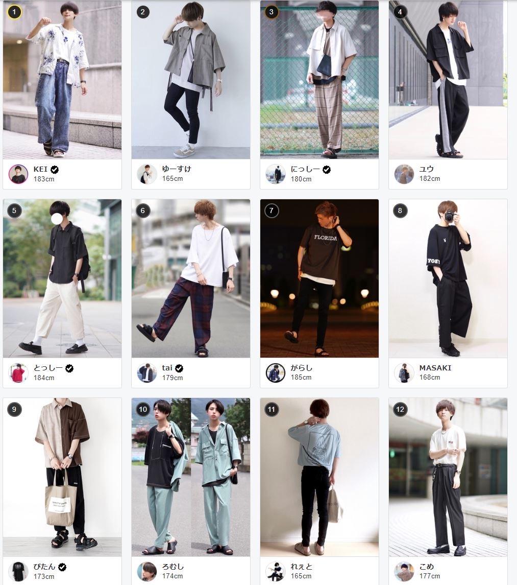 【画像】ガチで女からモテるファッションランキングトップ10が発表される