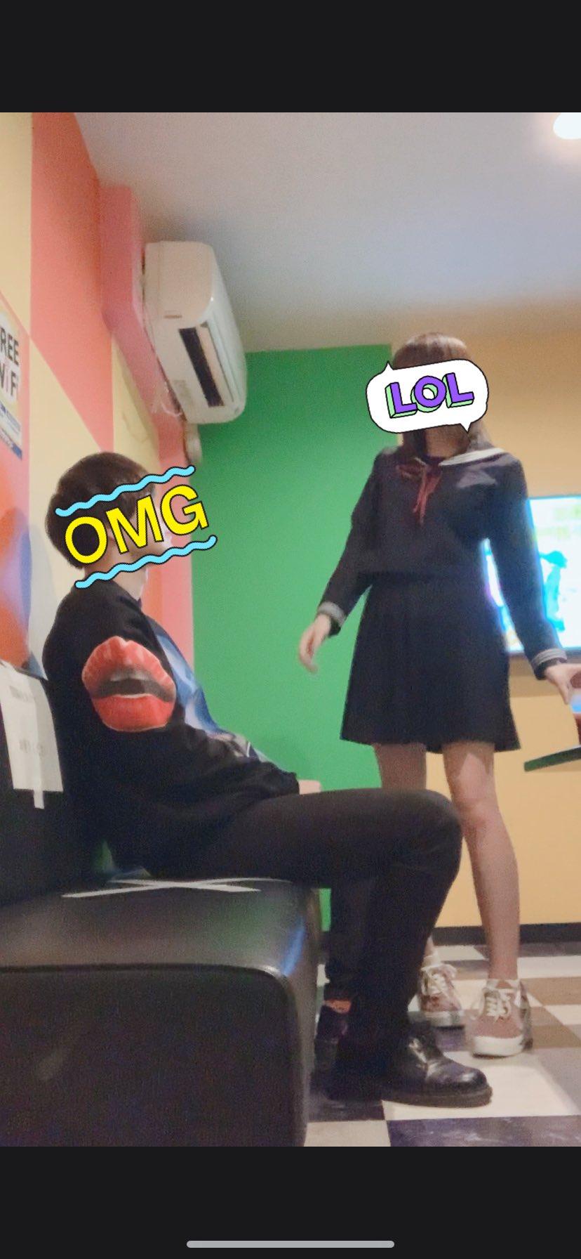 【画像】JKさん、カラオケで男と濃厚接触してしまうww