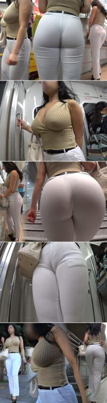 【画像】電車乗った時に近くにこんな身体の女がいたらどうする?
