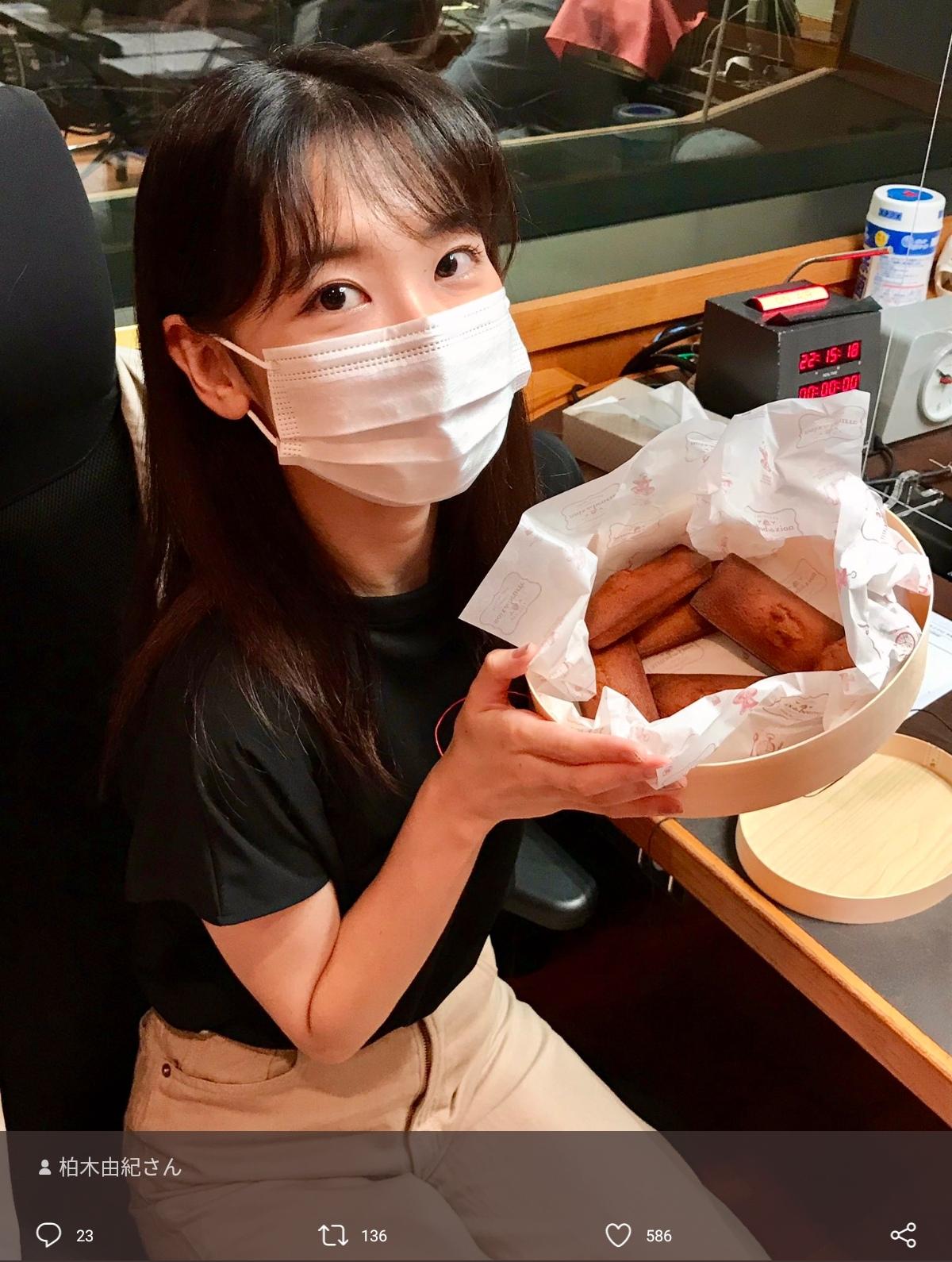 【画像】柏木由紀さん、マスクをしてるとめちゃくちゃ美人に
