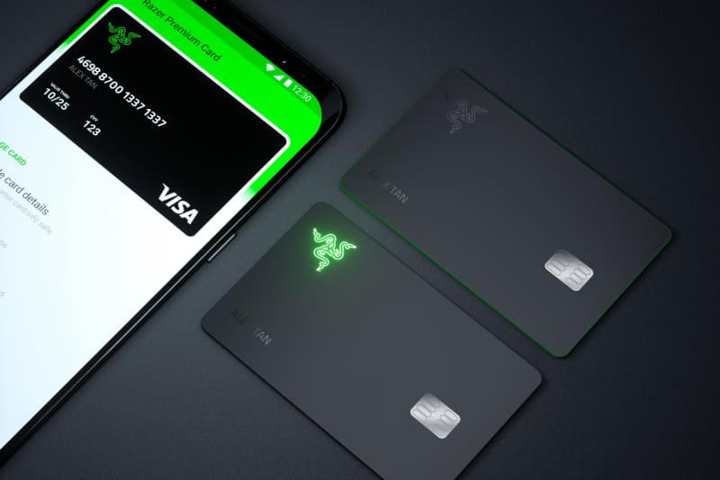 【画像】ゲーミングクレジットカード、爆誕wwwww