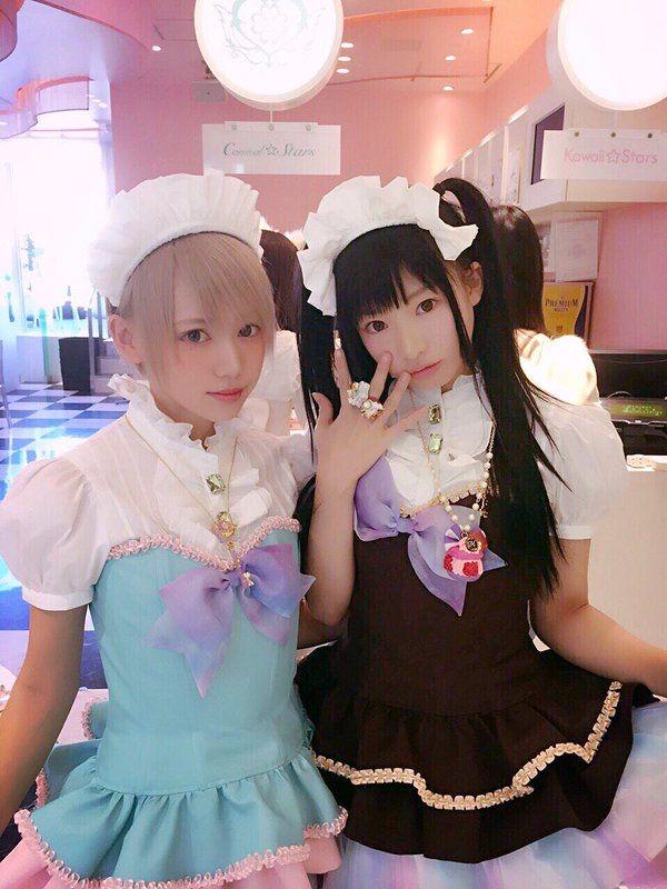 【画像】女装専門のメイドカフェ、結構いい