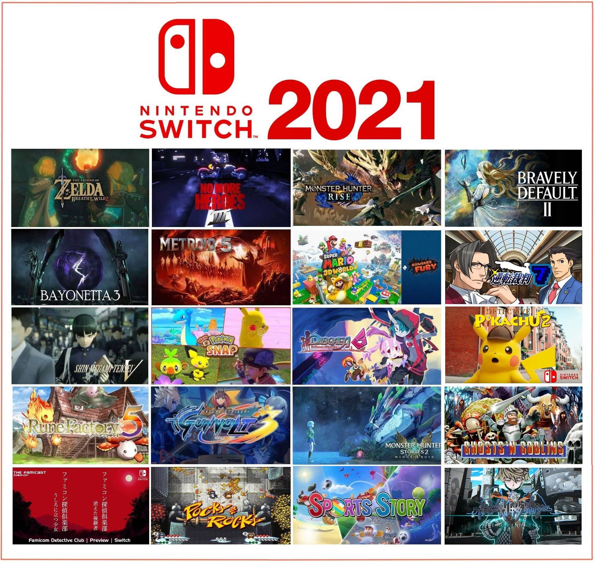 【画像】2021年もNintendo Switchの勝利が確信できる画像w