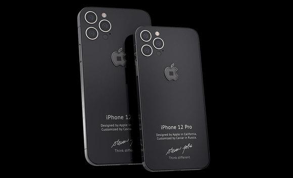 【画像】ジョブズが着ていたタートルネックの生地が埋め込まれたiPhone12発売!