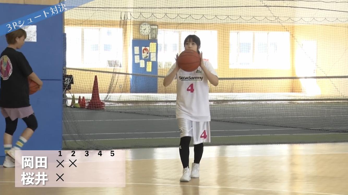 【画像】桜井日奈子ちゃんの3Pシュートの投げ方wwww