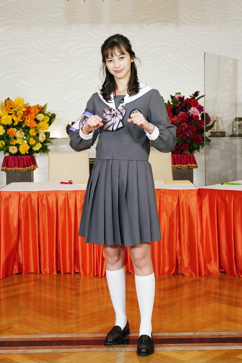 【画像】中条あやみさん、ゴチ新メンバーとしてセーラ服を着るもなんか強そう