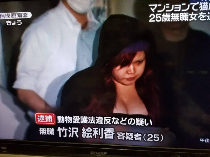 【速報画像】爆乳、逮捕!!!