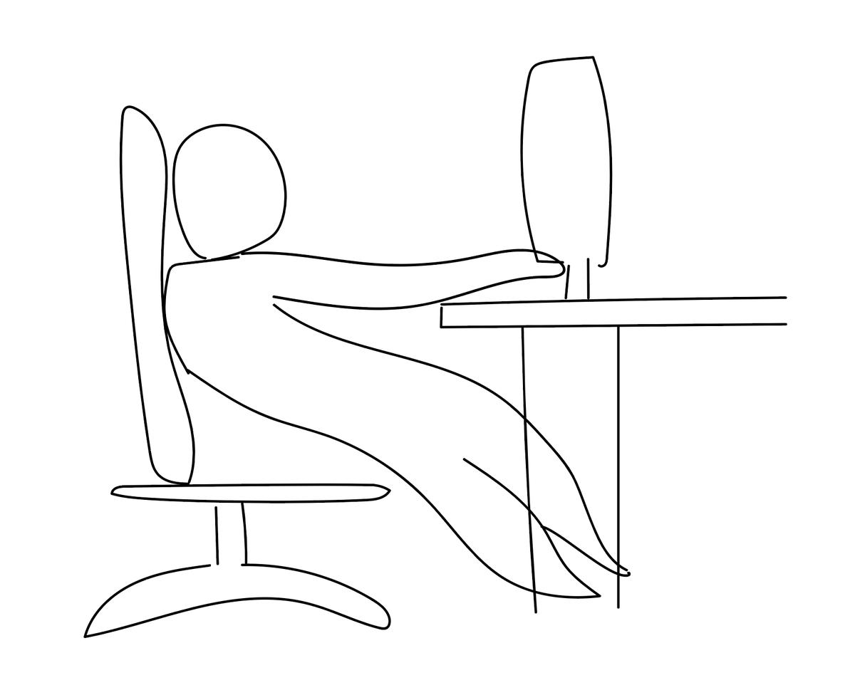 【画像】この座り方してるやつは今すぐ辞めろ 全身麻痺で死ぬぞ!