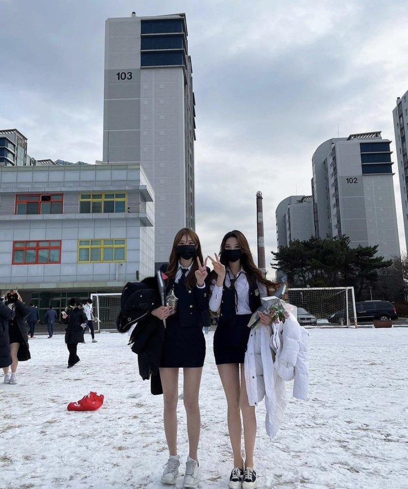 【画像】韓国のJKさん、えちえちすぎる